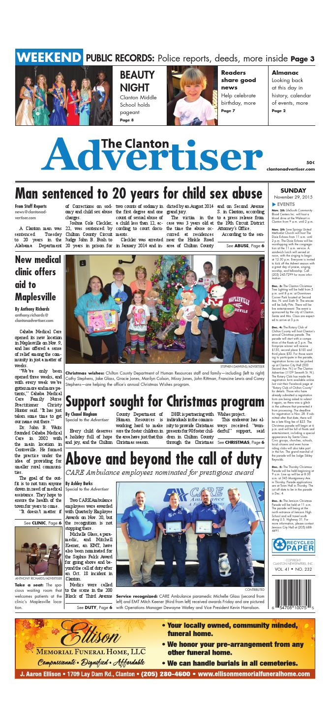 The Clanton Advertiser